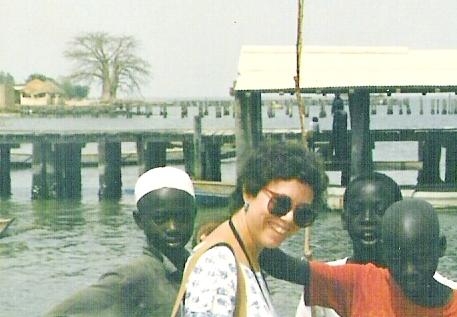 Sue in Senegal, 1980s