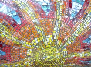 Charlottesville Mosaic, photo Susan Katz Miller