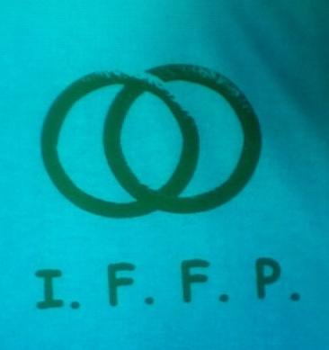 IFFP Silkscreen Logo, Jose Dominguez, Pyramid Atlantic