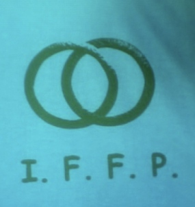 IFFP Silkscreen Logo, Jose Dominguez, Pyramid Atlantic