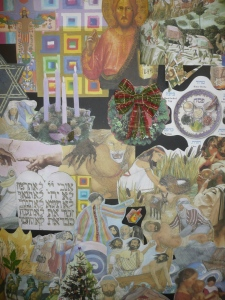Interfaith Collage by Robin Allen