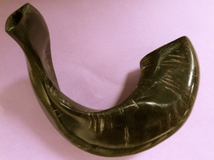 Shofar, photo Susan Katz Miller