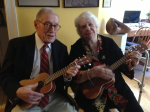 My parents, interfaith family pioneers, still kicking and strumming at 83 and 89