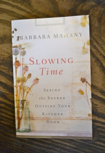 Slowing Time, Barbara Mahany, photo Susan Katz Miller