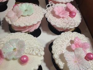 Spring cupcakes