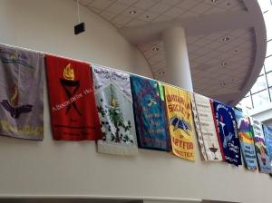 UU banners, UUAGA Portland 2015