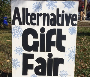 Alternative Gift Fair, photo by Susan Katz Miller